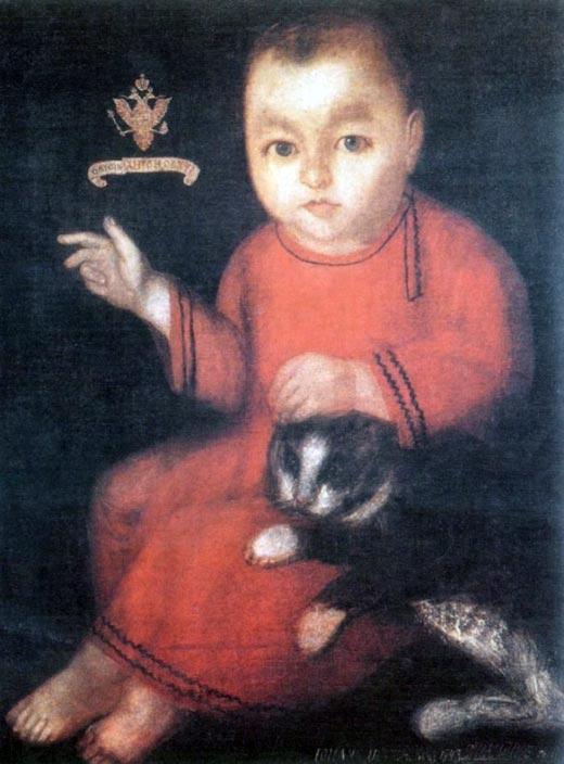 Иван Антонович в детстве