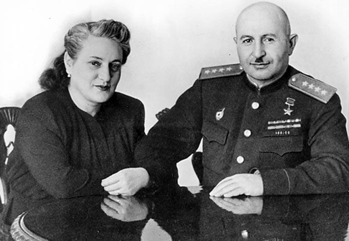 Иван Баграмян и жена Тамара Амаяковна