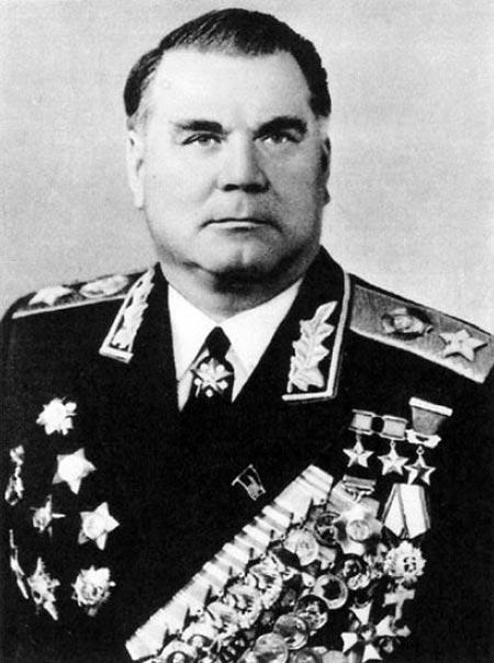 Маршал Советского Союза Иван Якубовский