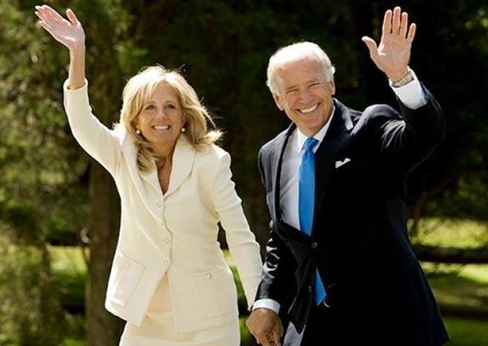 Джо Байден и жена Джилл