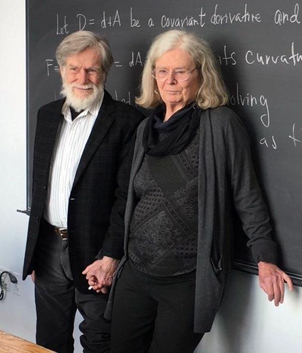 Карен Уленбек с мужем