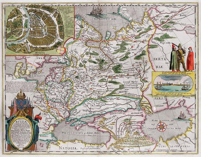 Карта России Федора Годунова
