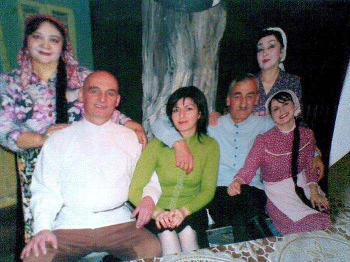 Лактемир Дзтиев с семьей