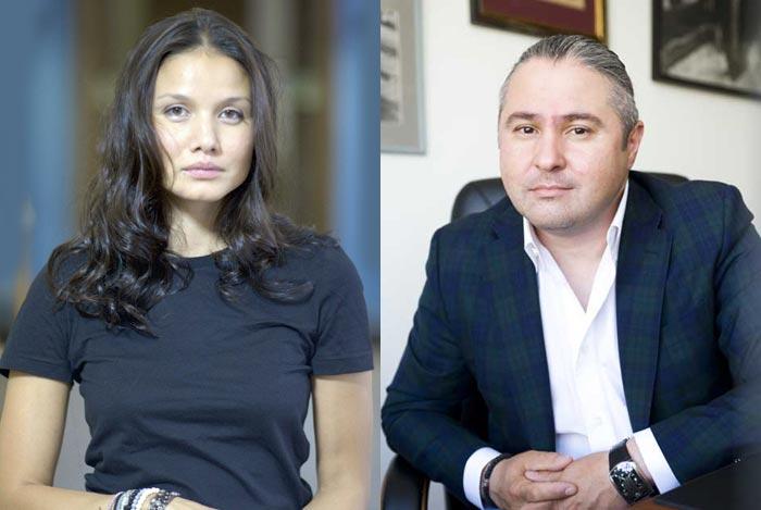 Лаура Пицхелаури и Дмитрий Месхиев