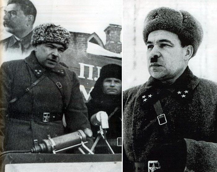 Командующий Ленинградским фронтом Леонид Говоров