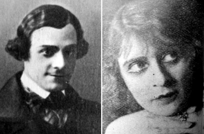 Леонид Вивьен и Евгения Вольф-Израэль