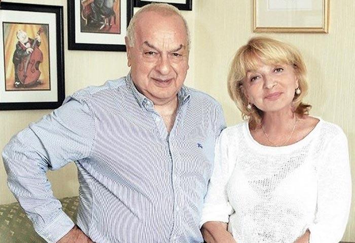 Левон Оганезов и жена Софья