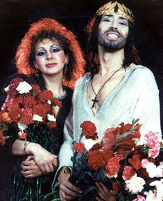 Лора Квинт и Валерий Леонтьев 2