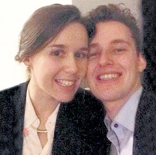 Мария Эшпай-Симонова с мужем