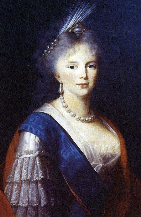 Мария Фёдоровна вторая жена Павла I Петровича