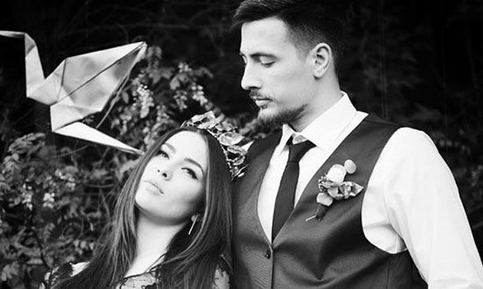 Maruv и муж Александр Корсун