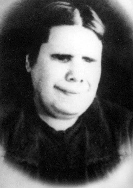 Матрона Московская в молодости