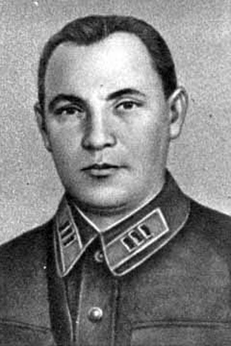 Матвей Захаров в молодости