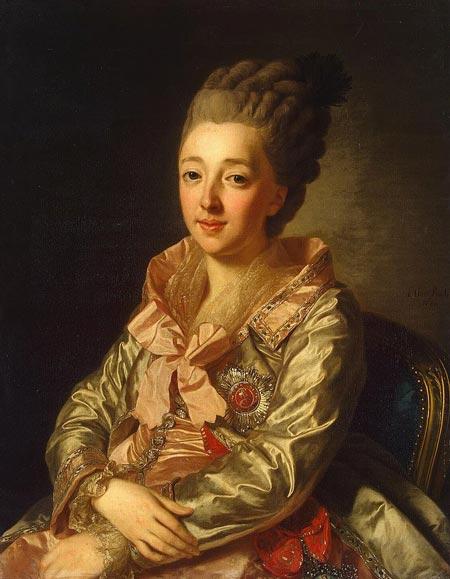 Наталья Алексеевна первая жена Павла I Петровича