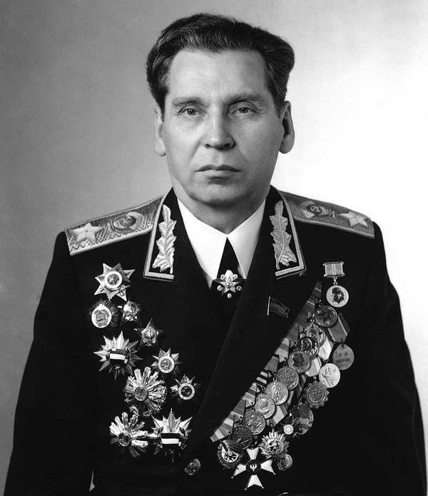 Маршал Советского Союза Николай Огарков
