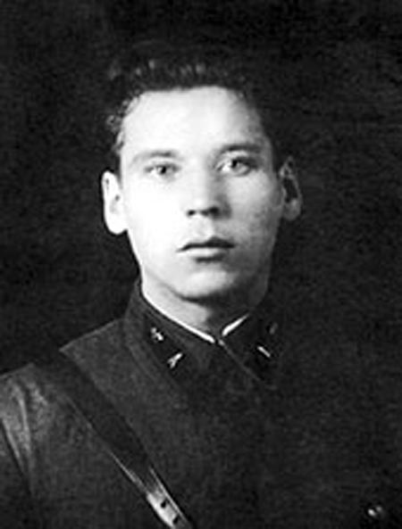 Николай Огарков в молодости
