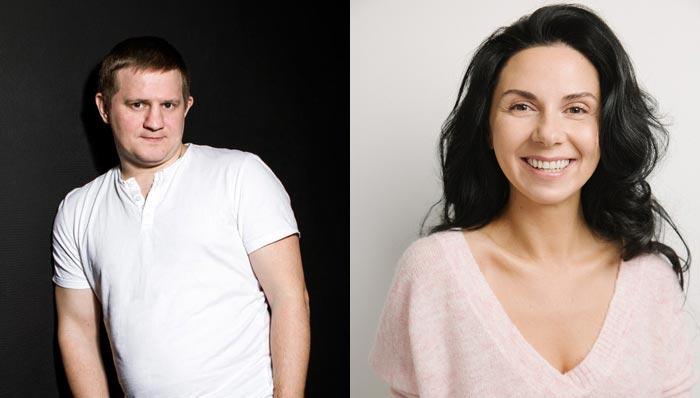 Александр Обласов и Елена Грук-Чернова