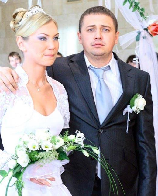 Олег Верещагин и жена Александра