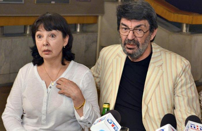 Сайдо Курбанов и Фарида Муминова