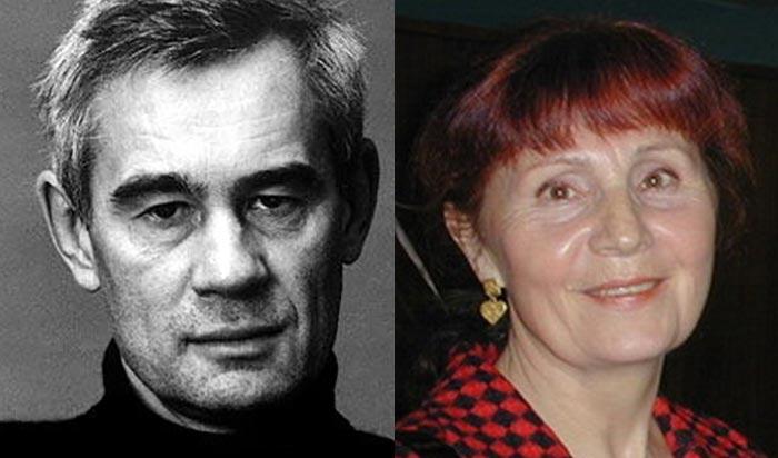 Сергей Бодров старший и Валентина Бодрова