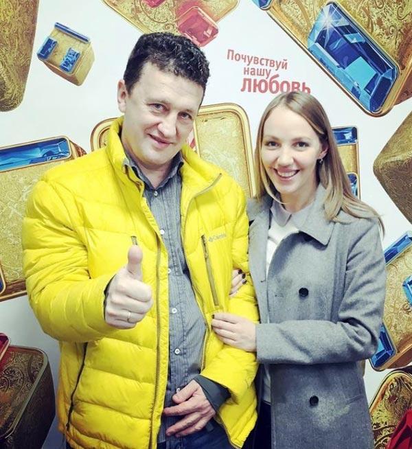 Сергей Корягин и Галина Боб