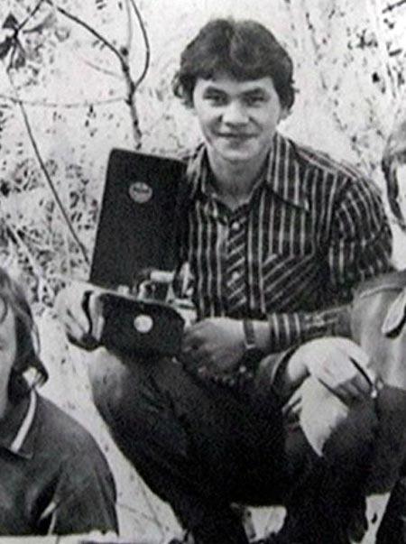 Сергей Шойгу в молодости