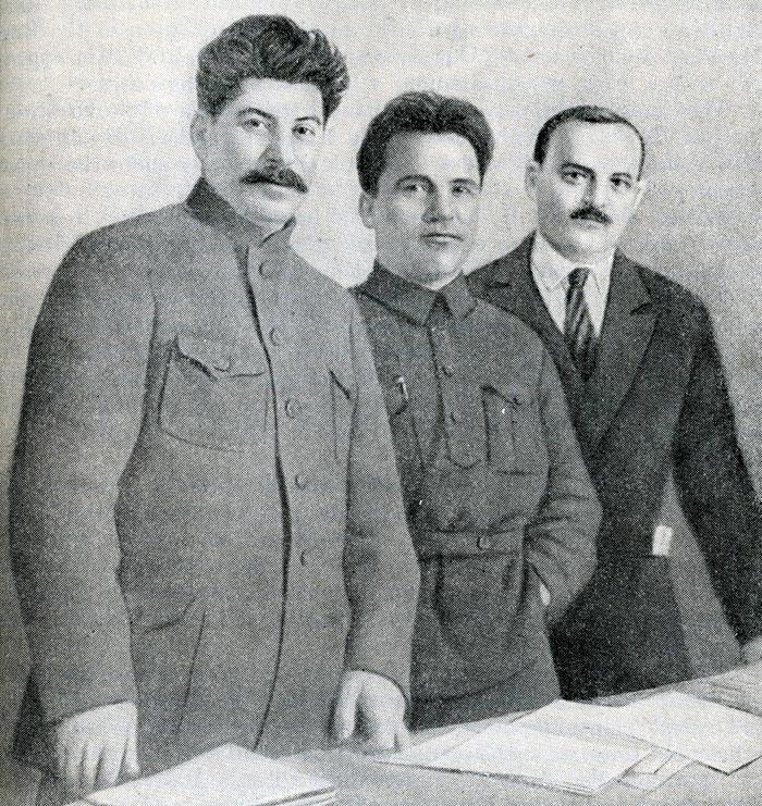 Иосиф Сталин Сергей Киров Николай Шверник
