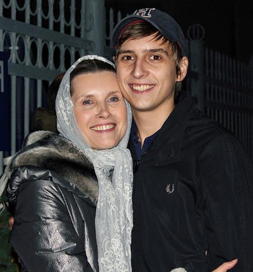 Светлана Копылова и сын Дмитрий
