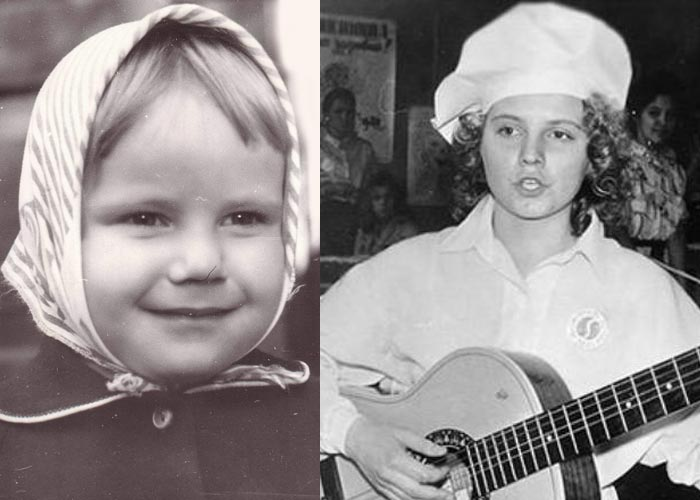 Светлана Сурганова в детстве