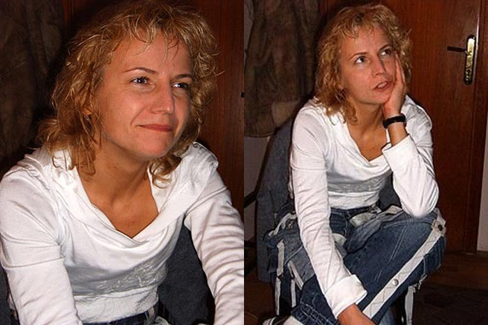 Светлана Сурганова в молодости