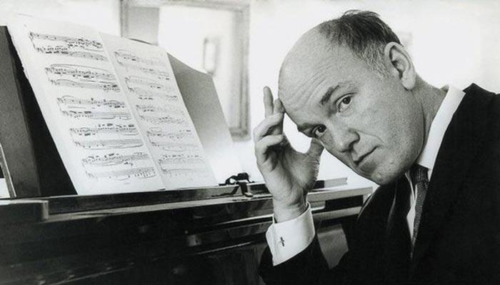 Святослав Рихтер за пианино