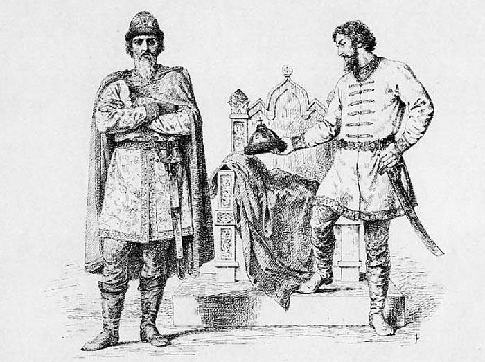 Великие князья Святослав Всеволодович и Андрей Ярославич