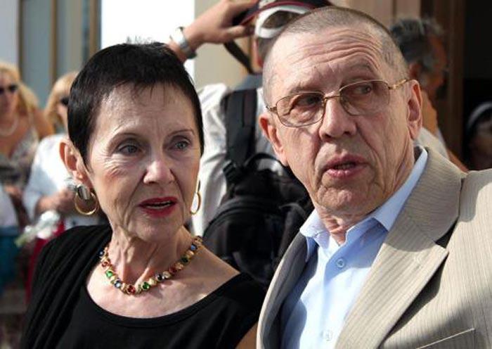 Тамара Золотухина и Валерий Золотухин