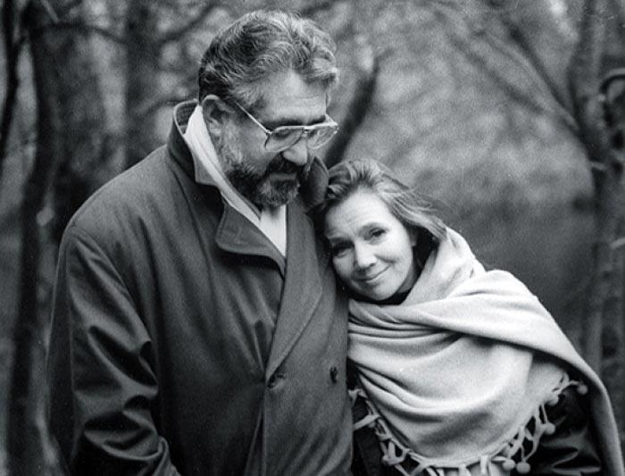 Татьяна Шестакова и муж Лев Додин