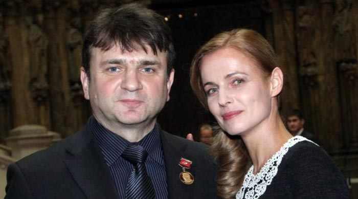 Тимур Кизяков и жена Елена
