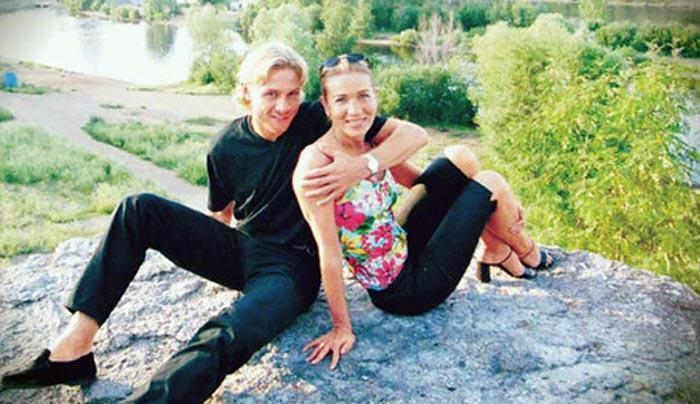 Валерий Карпин и первая жена Светлана