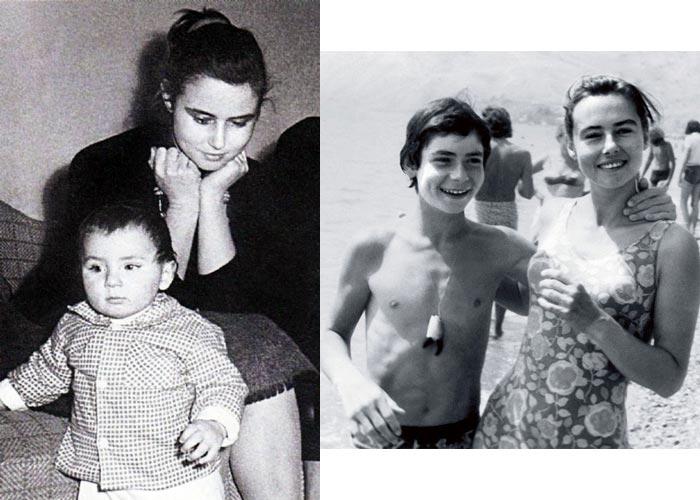 Виктория Лепко и сын Антон