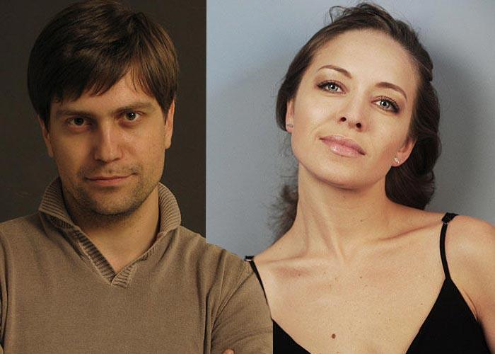 Виталий Кудрявцев и Серафима Низовская