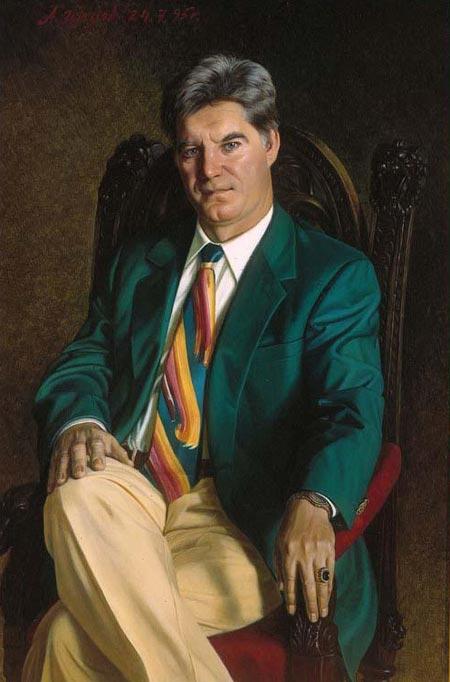 Портрет Владимира Брынцалова работы Александра Шилова