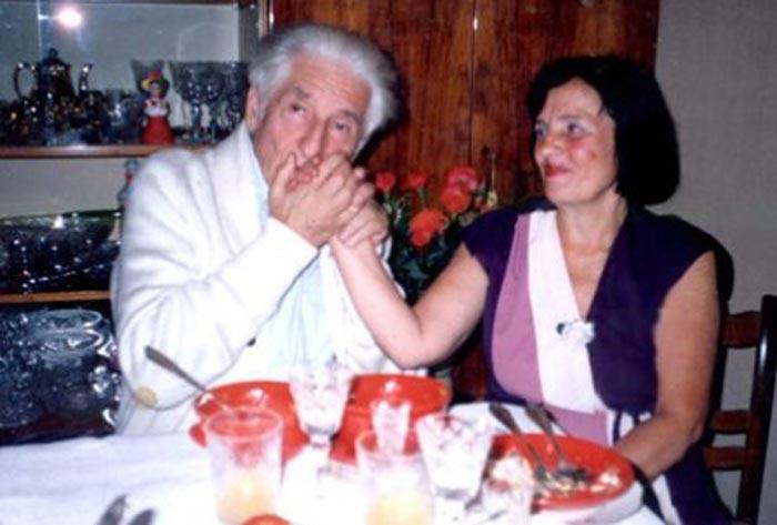 Владимир Герцик и жена Лидия Николаевна