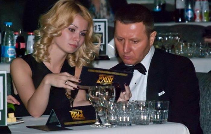 Владислав Котлярский и жена Виктория Болдырева