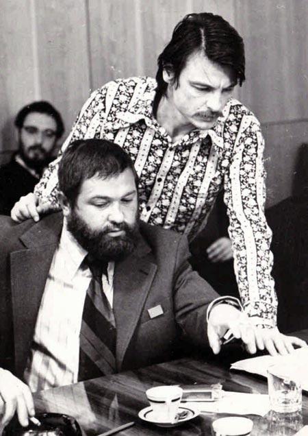 Юлиан Семенов и Андрей Тарковский