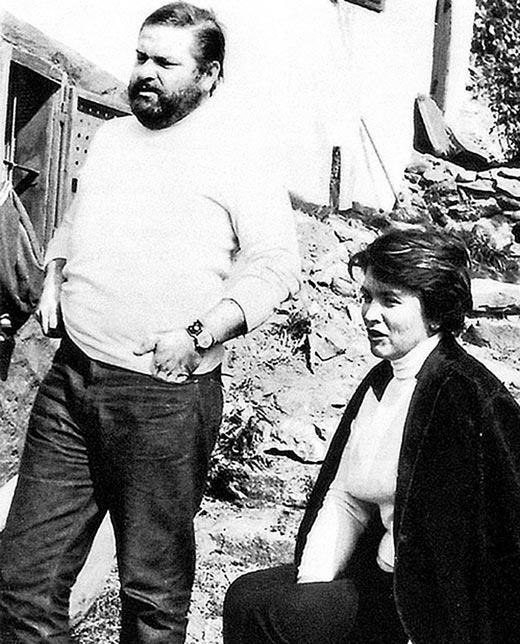 Юлиан Семенов и жена Екатерина