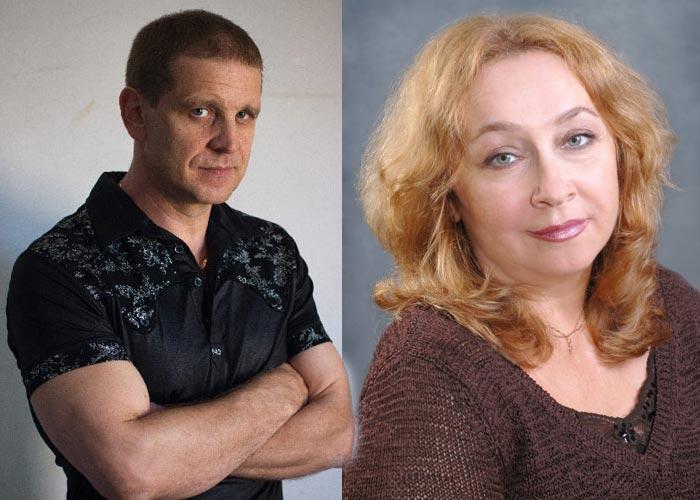 Юрий Архангельский и Марина Кочетова