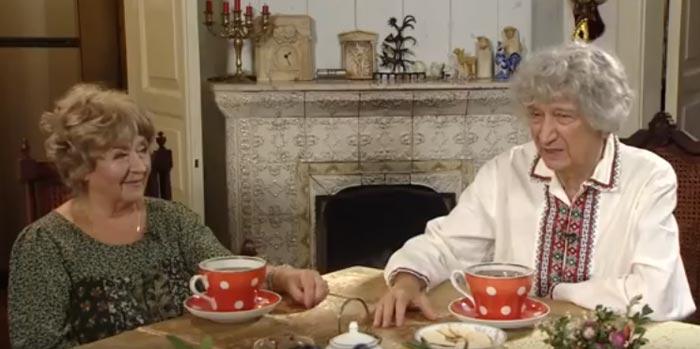 Юрий Энтин и вторая жена Марина