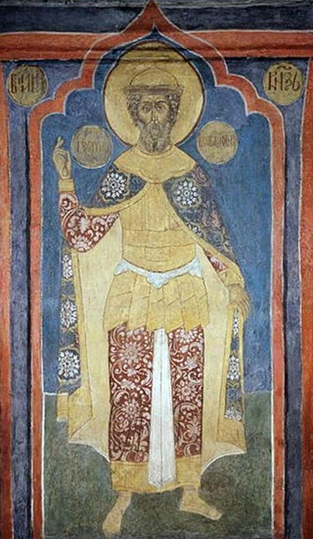 икона святой благоверный князь Георгий Всеволодович