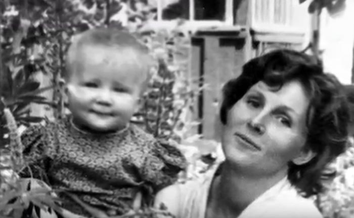 Жена и дочь Леонида Дербенева
