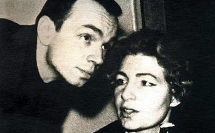 Зоя Богуславская и Андрей Вознесенский