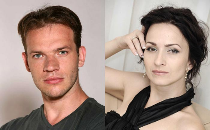 Евгений Харитонов и Вера Дупенко