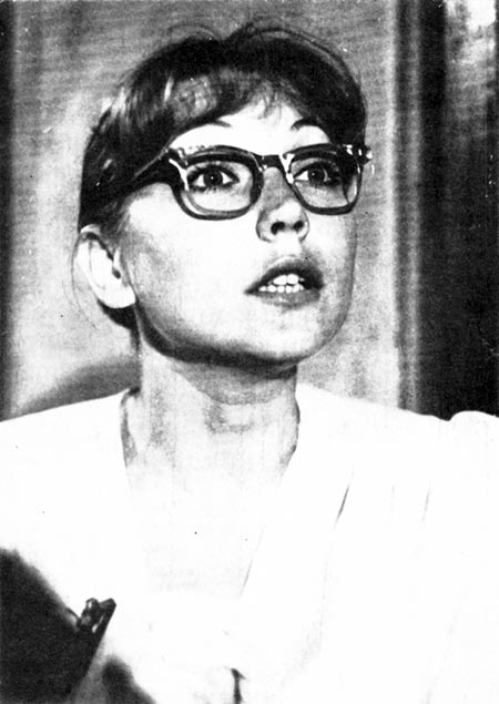 Наталья Захарова в молодости